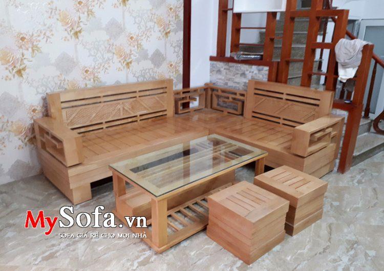 Cac Mẫu Sofa Gỗ đẹp Va Gia Ban Sofa Gỗ Hiện đại