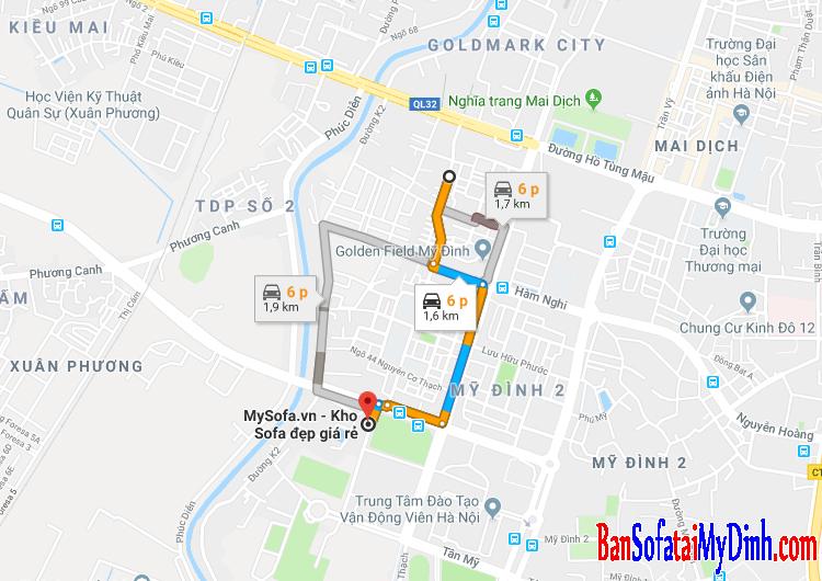 Cửa hàng bán Sofa gần phố Nguyễn Đổng Chi, Nam Từ Liêm